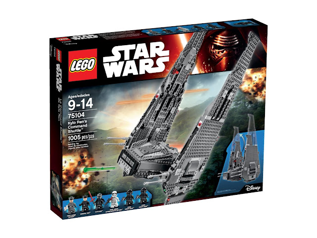 Lego Set of Kylo Ren's Command Shuttle