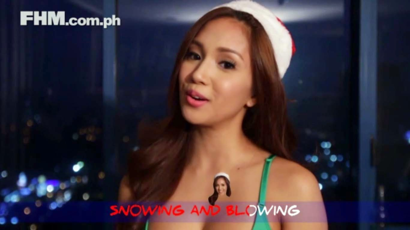 FHM Girls Wishes everyone a merry Christmas this 2014, sings popular jingle, Jingle Bell Rock