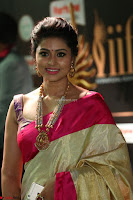 Sneha Looks Super cute in Red Silk Saree at IIFA Utsavam Awards 019.JPG
