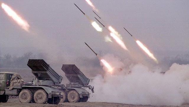 """صواريخ """"غراد"""" حديثة تصل إلى الثوار"""