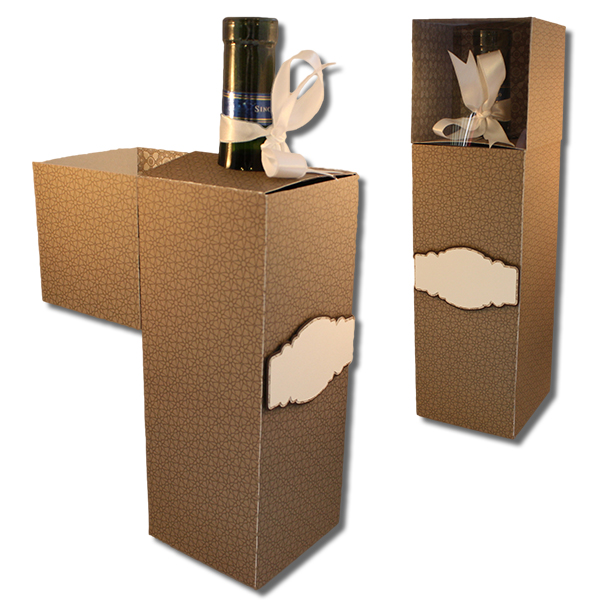 Bits Of Paper Wine Bottle Gift Box