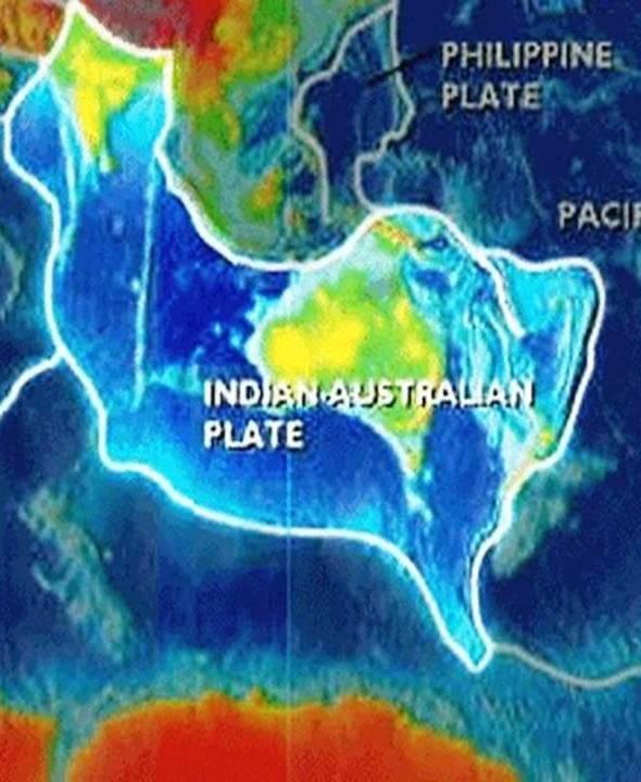 Lempeng Indo-australia : lempeng, indo-australia, Lenyapnya, Sandy, Island, Pembengkokan, Lempeng, Indo-Australia, Status, Dunia
