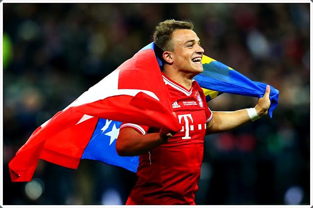 Xherdan Shaqiri Bayern Kosovo Switzerland