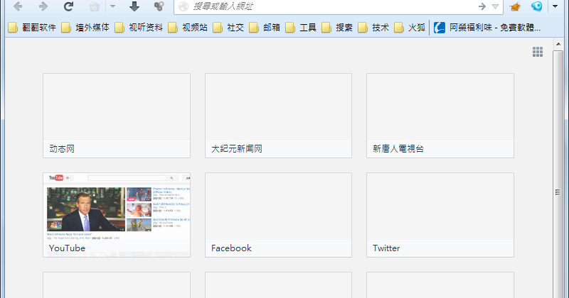FirefoxPlus (Firefox-GoAgent) 2015.12.15 免安裝中文版 - 內建翻牆功能的火狐瀏覽器 免設定快速上手