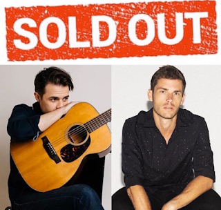 Kris Allen and Jon McLaughlin House Show sold out 1/25/2020