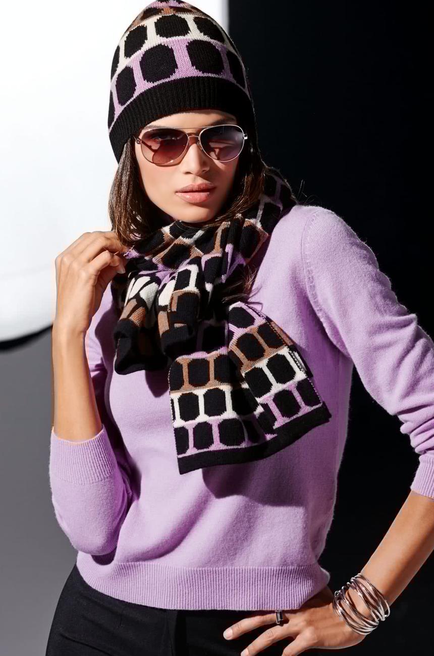 Madeleine Amethyst Sweater