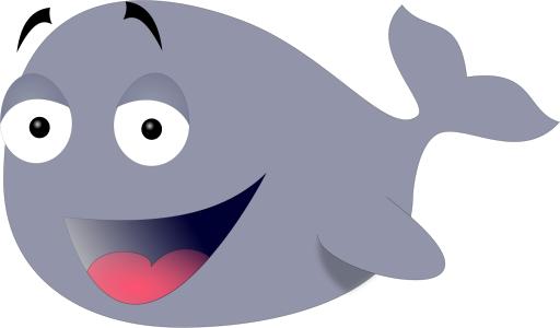 Funny whale cartoon |Funny Animal