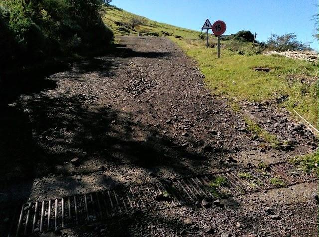 Carreteras que conducen a Montaña Fagajesto intransitables