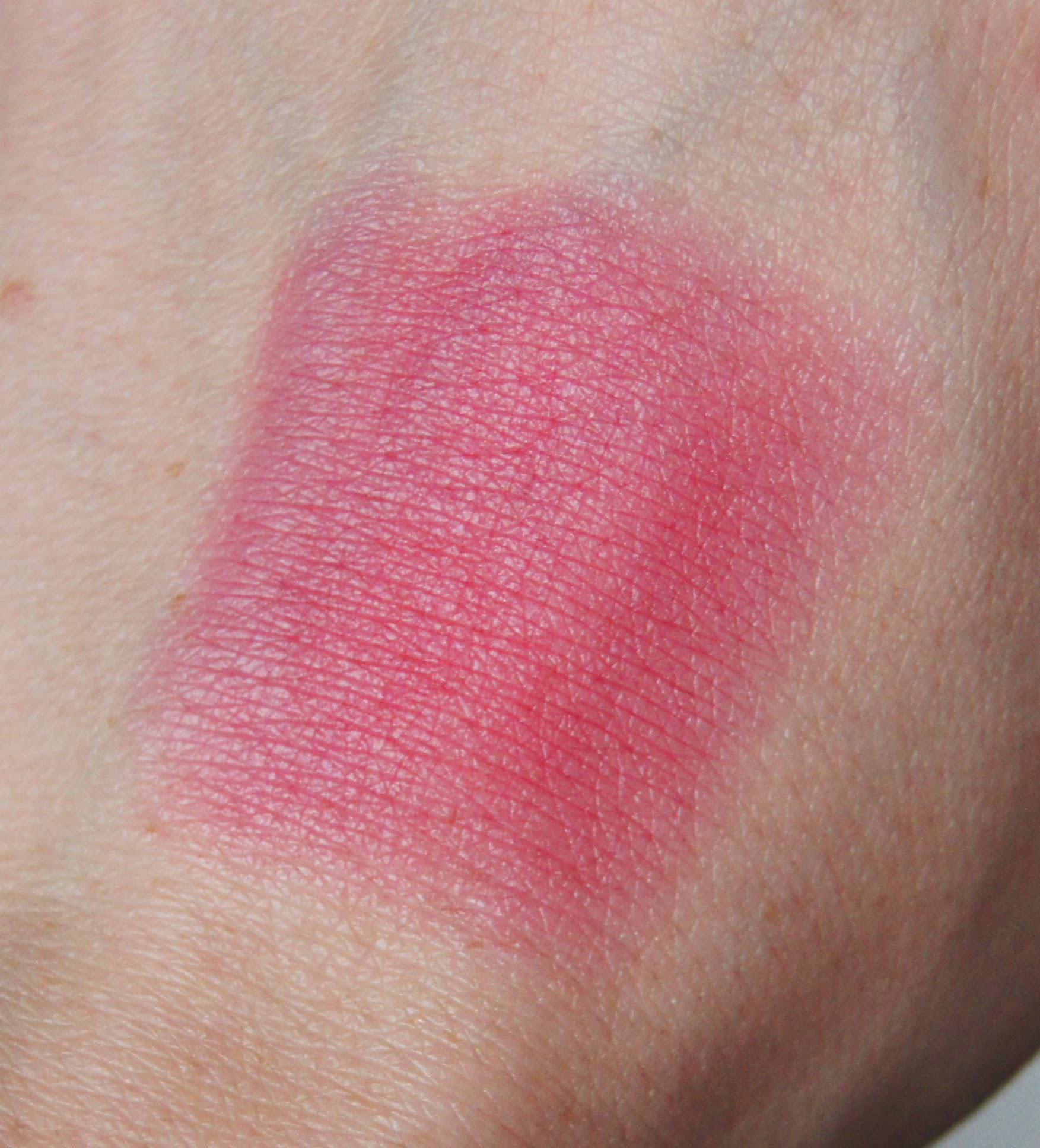 soap and glory berry jamm sexy mother blusher cream blush sticks blended out swatch