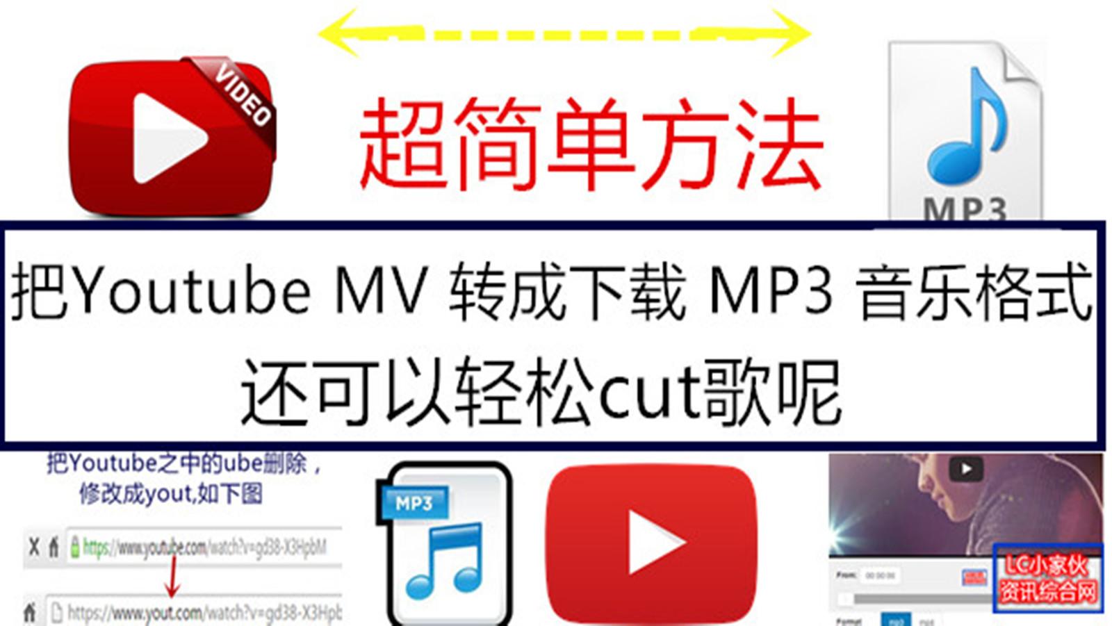 超簡單方法把Youtube MV 下載成MP3歌曲格式 | LC 小傢伙綜合網