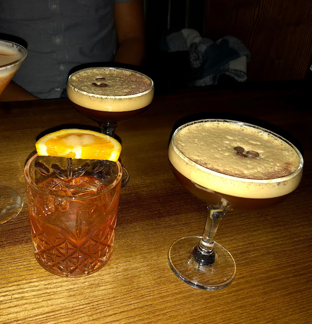cocktails at head of steam cardiff central