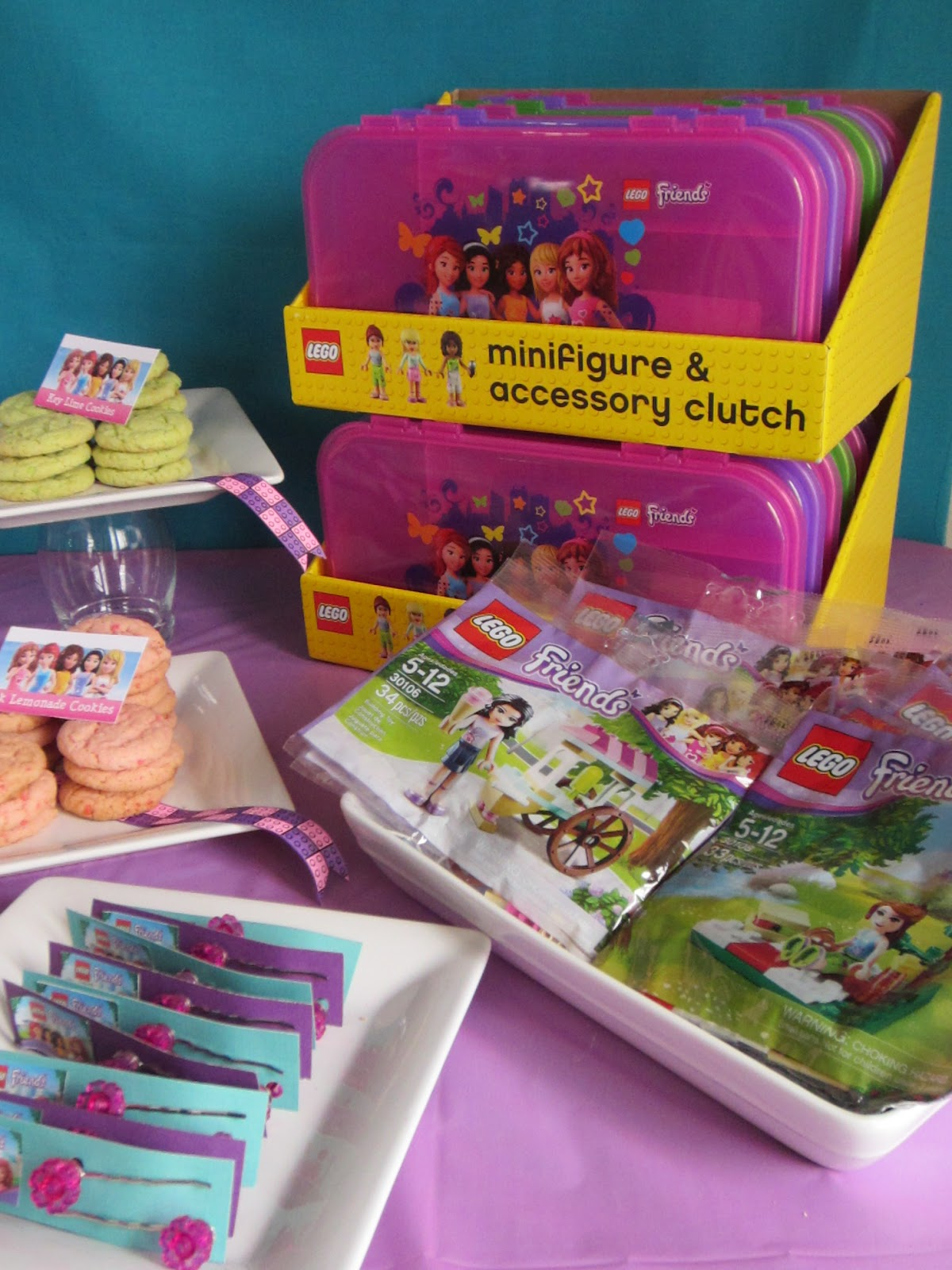 Party At The Beech Emily S Lego Friends Birthday Party