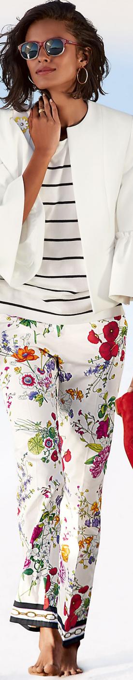 MADELEINE Floral Pants