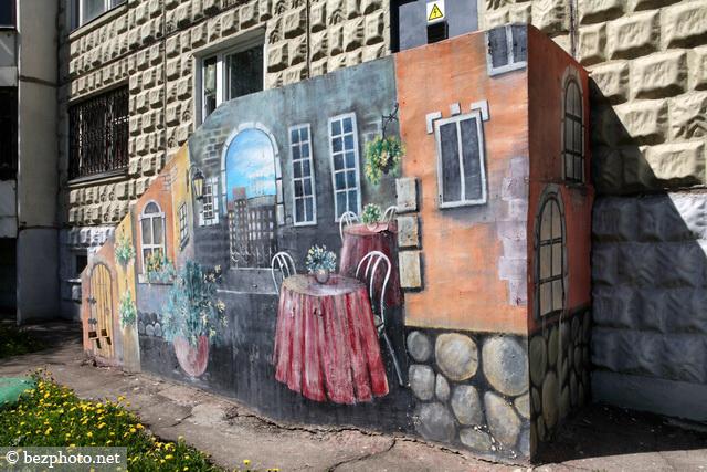 бирюлево граффити