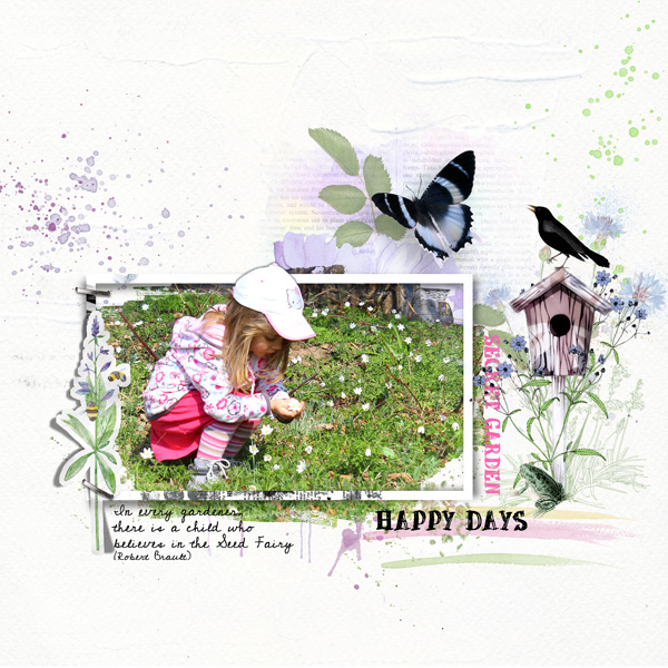 scrapbooking digital clindoeildesign clin d'oeil design Dawn Inskip always and forever collection
