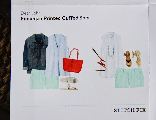 Dear John Finnegan Printed Cuffed Short style card