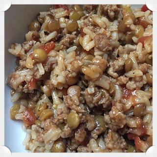 Italian Sausage, Lentils, & Rice Skillet