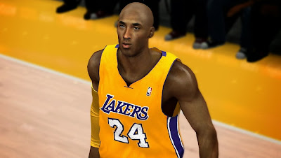 NBA 2K14 Kobe Bryant Cyberface Haircut