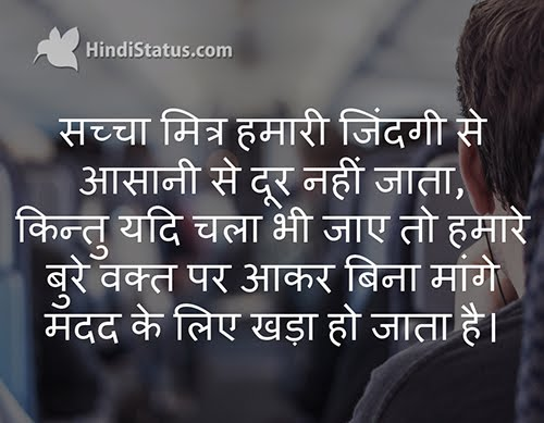 True Friend from Our Life - HindiStatus