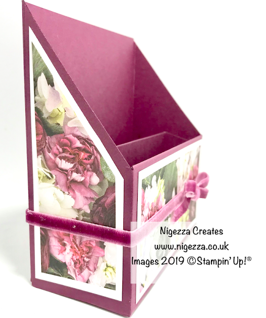 Stampin' Up! Embellishment Storage Using Petal Promenade Nigezza Creates
