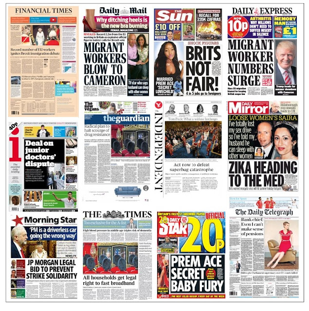 front pages 19-05-16