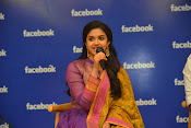 keerthi suresh at facebook office-thumbnail-1