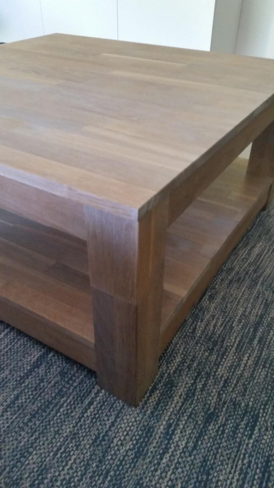De salontafel opknappen simpel rijk leven for 2e hands meubels