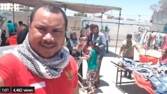 Aktivis Kemanusiaan Palestina: Indonesia Jadi Bahan Pembicaraan karena Ulah Orang yang Cari Sensasi