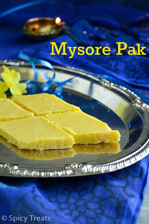 Ghee Mysore Pak