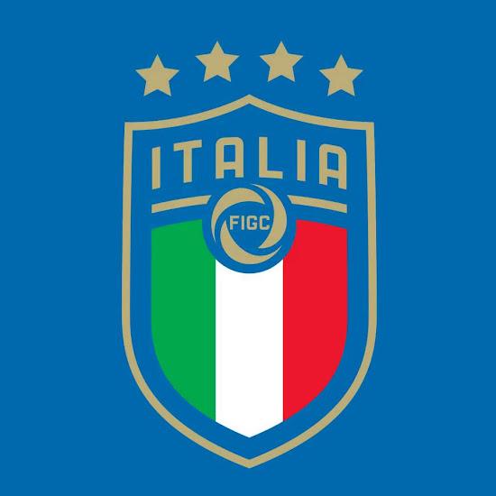 all new italy 2018 national team logo revealed footy headlines rh footyheadlines com