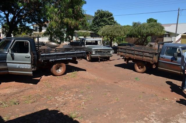 PM Recupera veículos furtados em Roncador