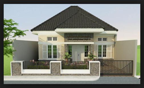gambar atap limas rumah minimalis