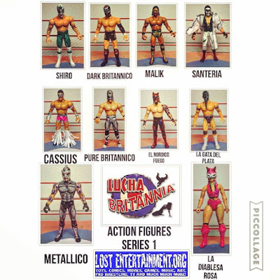 TOYS: LUCHA BRITANNIA ACTION FIGURES SERIES 1