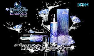 Body lotion Aura Glow Diamond Series