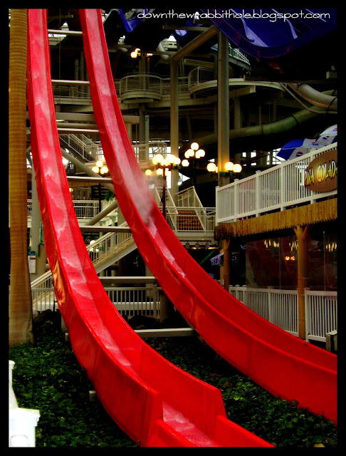 waterslides Edmonton, biggest mall in the world