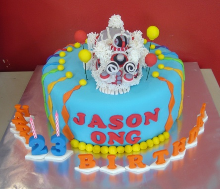 Yochanas Cake Delight Lion Dance Cake