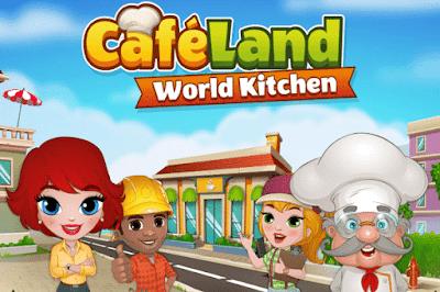 Free Download Cafeland - World Kitchen Mod Apk Android