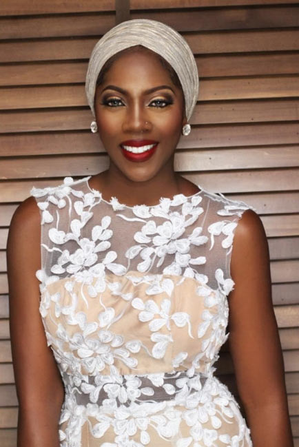 Tiwa Savage unleashes dazzling new photos