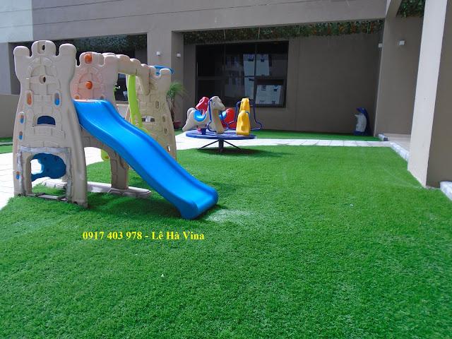 Thảm cỏ nhựa nhân tạo giá 160,000/m2