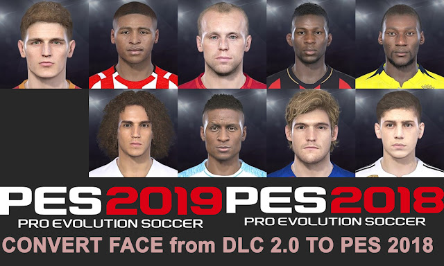 PES 2018 New Facepack Converted from PES 2019 DCL 2.0