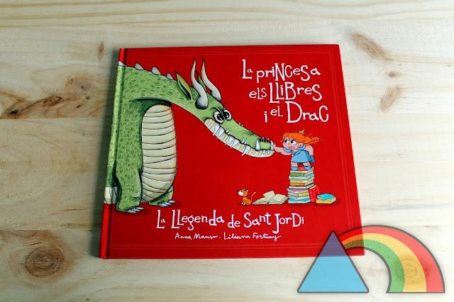 Portada del cuento La princesa, els llibres i el drac de Editorial La Galera