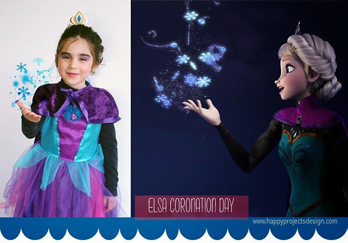 Disfraz elsa coronation day DIY