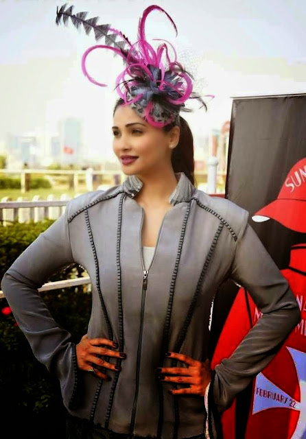 Daisy Shah Stills At Poonawala Race at Mahalaxmi in Mumbai