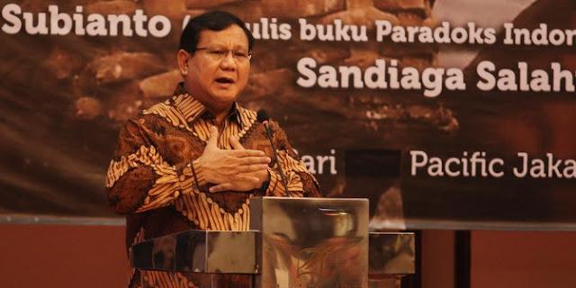 Prabowo Sebut Menteri Susi Bisa Dicopot karena Ungkap Kerugian Negara