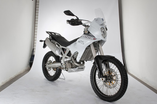 Offer to ride the CCM Adventure GP450