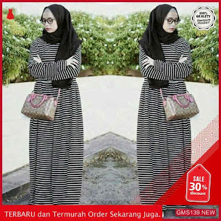 GMS139 XRSTN139G85 Gamis Maxi Dress Pakaian Muslim Dropship SK1762208946