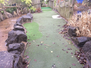 Conservation Adventure Golf at Chester Zoo. Photo by John Mittler