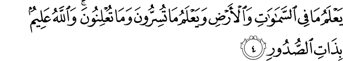 Surat At-Taghabun Ayat 4