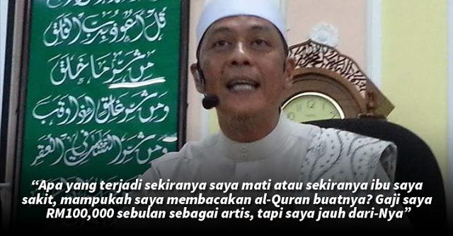 'Saya Tak Mampu Baca Quran Depan Kaabah' – Shamsul Ghau-Ghau