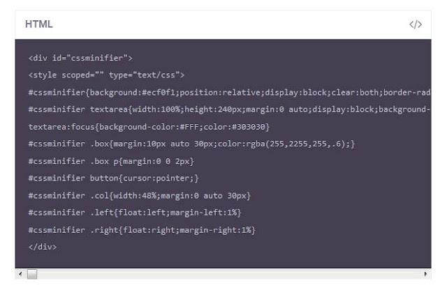Cara Membuat Kotak Kode HTML di Postingan
